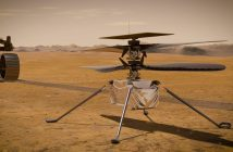 The first-ever space helicopter is en route to Mars, to shoot drone footage
