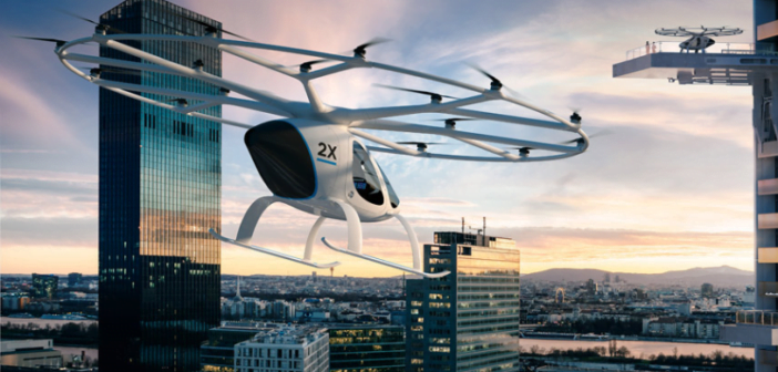 The Volocopter has taken urban air mobility to whole new level