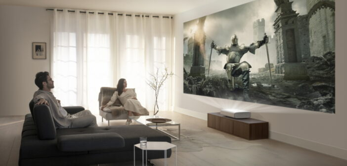 Samsung has released the 4K Ultra Short Throw laser projector: The Premier
