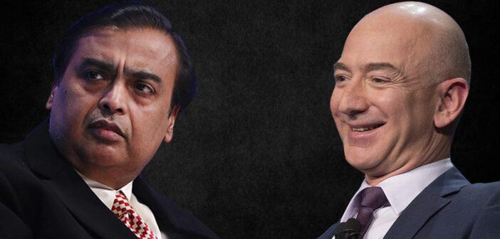 Billionaires, Bezos and Ambani battle for India retail supremacy