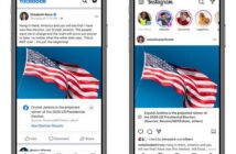 Facebook to announce presidential election result in Facebook and Instagram notifications