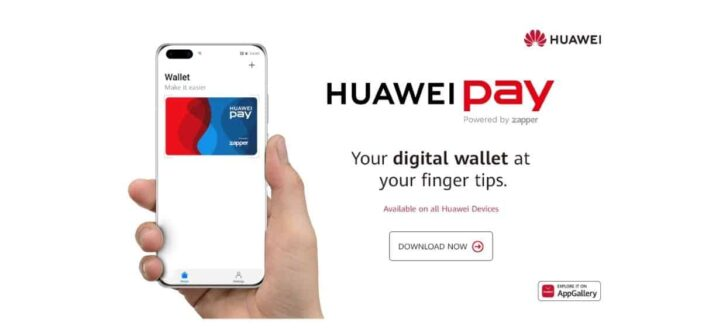 Huawei launching a digital wallet in South Africa in partnership with Zapper