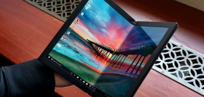 Lenovo introduces world's first foldable laptop in South Africa