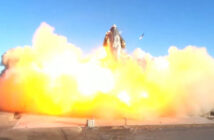 SpaceX Starship SN8 explodes upon landing after test flight
