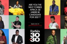 Forbes Africa's 30 Under 30 Class Of 2021 nominations open