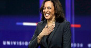 Vice President-elect Kamala Harris leaves her Senate seat