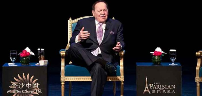 Chinese investors set their eyes on Sands China Ltd after founder billionaire Sheldon Adelson's death