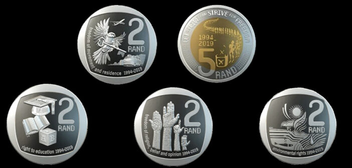 South Africa introduces new R2 & R5 coins
