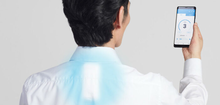 Sony releases a more COOL wearable air conditioner