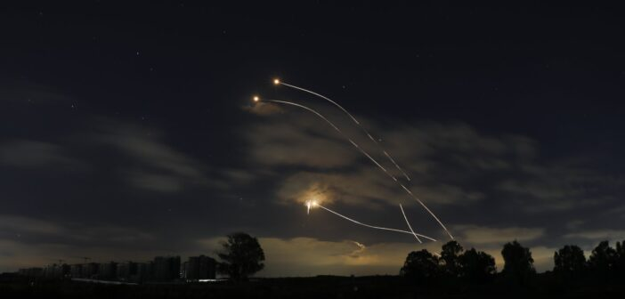 What is the Iron Dome and how does it protect Israel from rocket attacks?