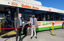 SA launches its first electric bus